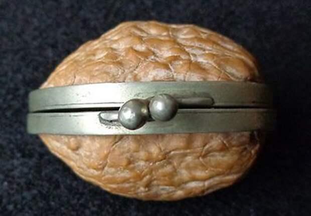 Щёлкаем орешки: скорлупа грецкого ореха как материал для вашего творчества, фото № 6