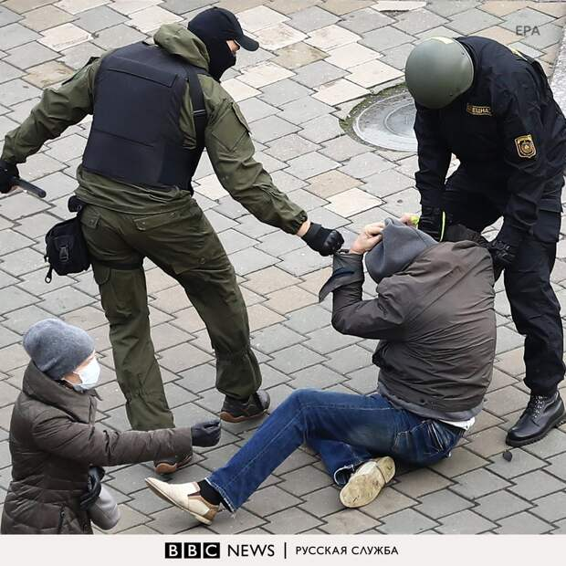 Задержания в Минске. 08.11.2020