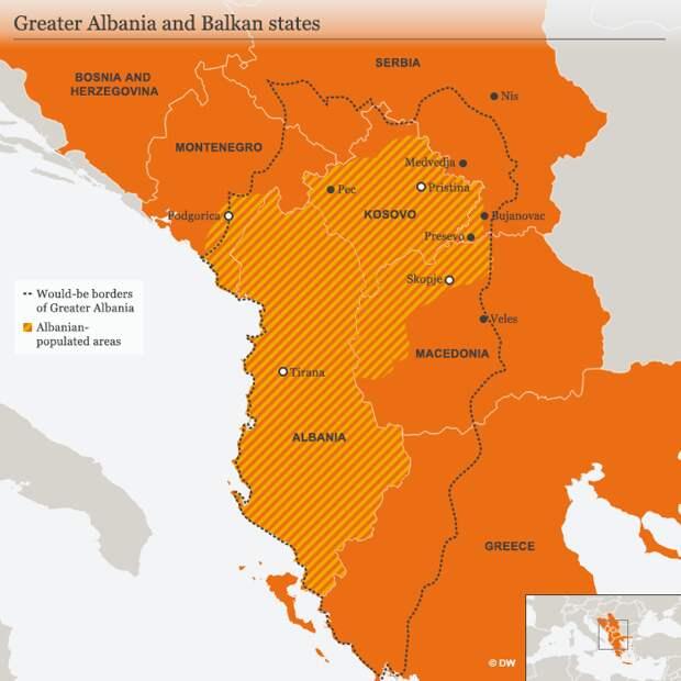 И никакой боязни санкций: Албания начала открытое поглощение Косово
