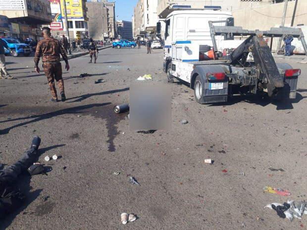 Восемь человек погибли при взрыве в Багдаде из-за атаки террориста
