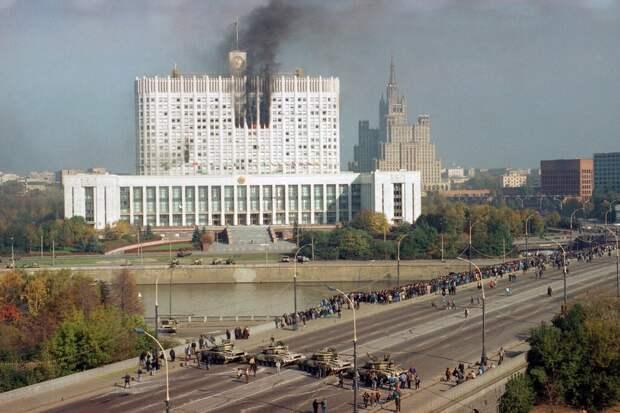 В вашингтонском мятеже - отголоски постсоветских восстаний
