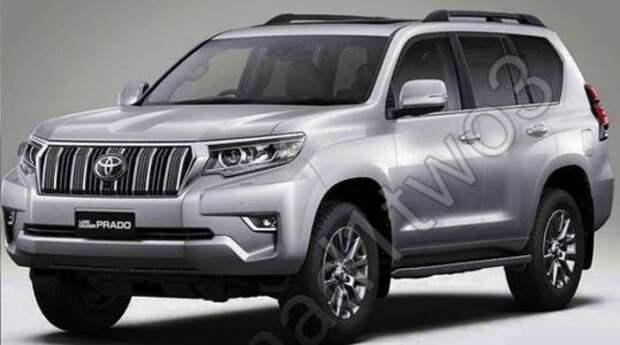 Обновленный Toyota Land Cruiser Prado получит в России дефорсированный двигатель