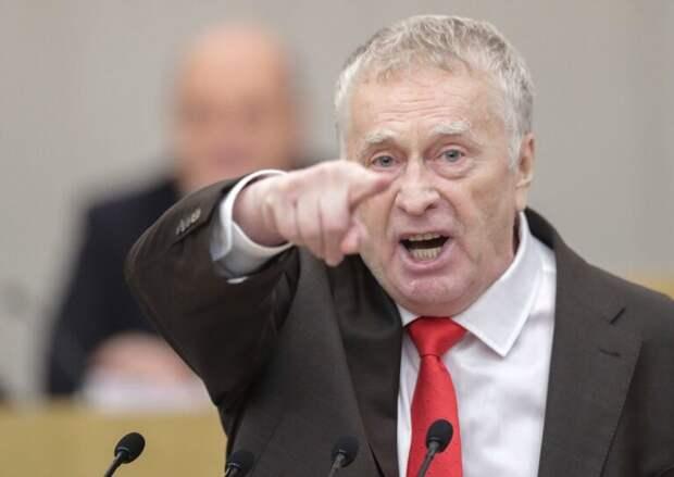 Жириновский призвал атаковать Украину