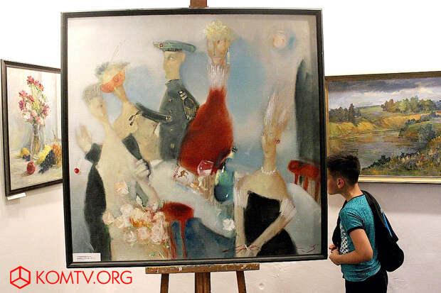 Александр Жерноклюев «Карнавал в Гель-Гью» - подарок автора Музею Грина