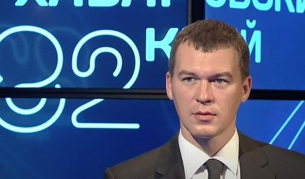Дегтярев вручил ключи от служебных квартир девяти медикам Хабаровского края