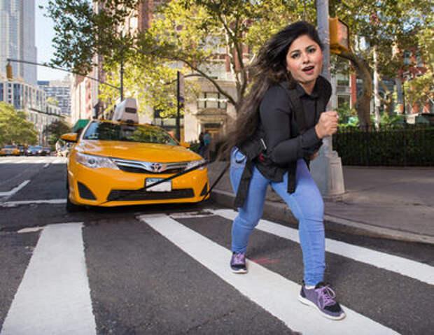 Осторожно! Некрасивые мужчины! Пародийный календарь таксистов Нью-Йорка
