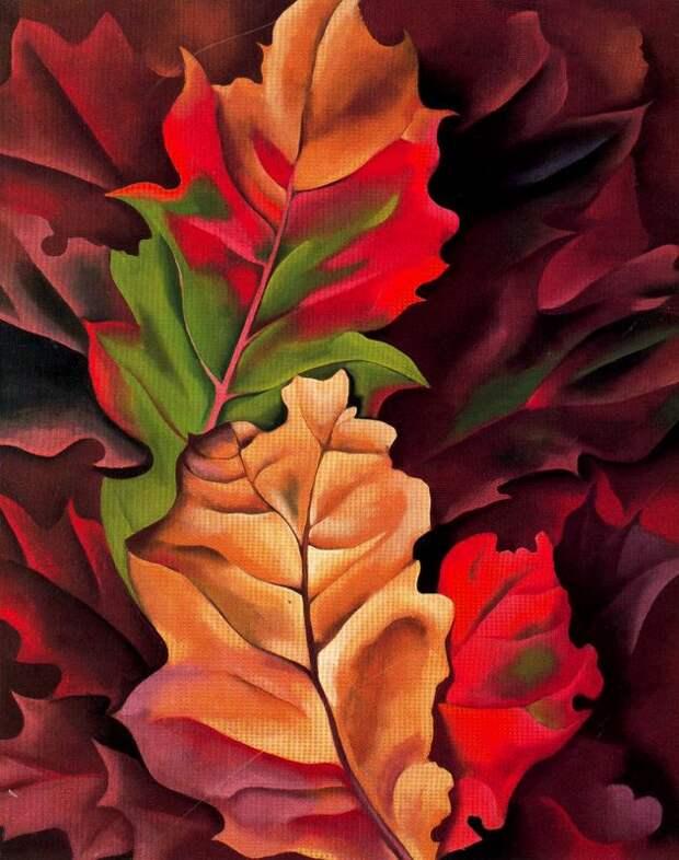 Джорджия О'Киф. Осенние листья