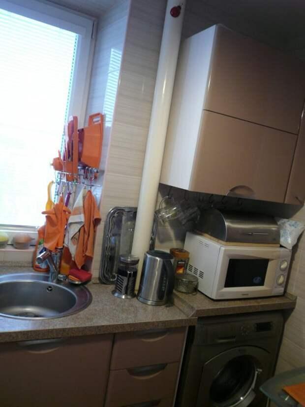 Дизайн кухни 4,8 кв.м