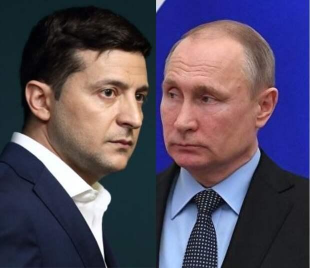 Стали известны темы первого телефонного разговора Путина и Зеленского