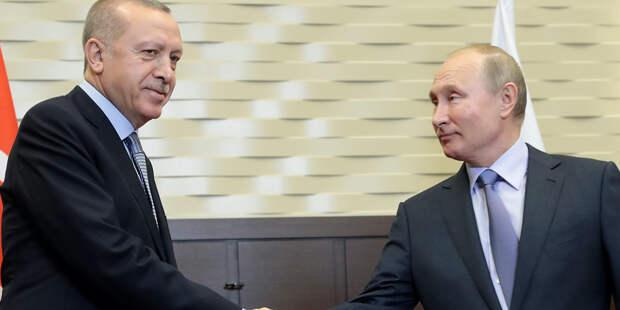 Ушаков сообщил о предстоящей встрече Путина и Эрдогана