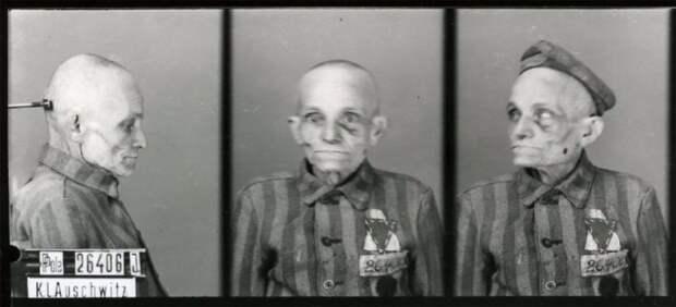 Фотокарточки заключенных концентрационного лагеря Освенцим