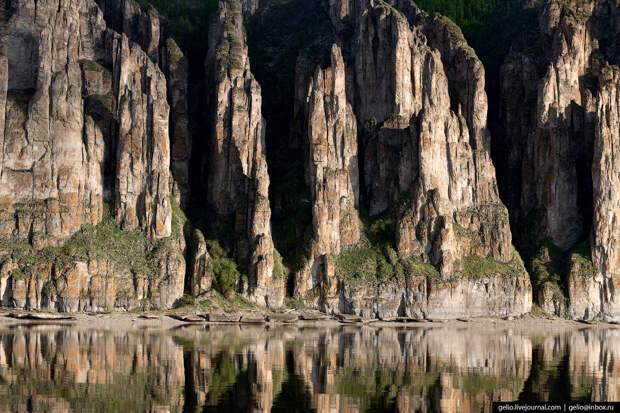 Ленские столбы — каменный лес Якутии.