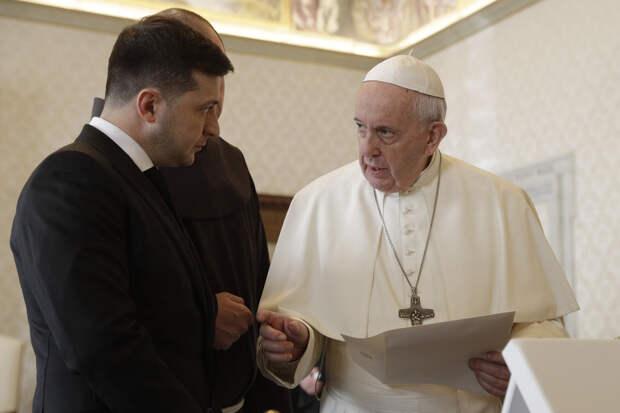 «Идеальное место»: Зеленский предложил Путину встретиться вВатикане
