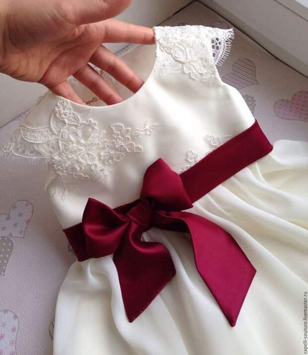 нарядное платье сшить на выпускной в садике