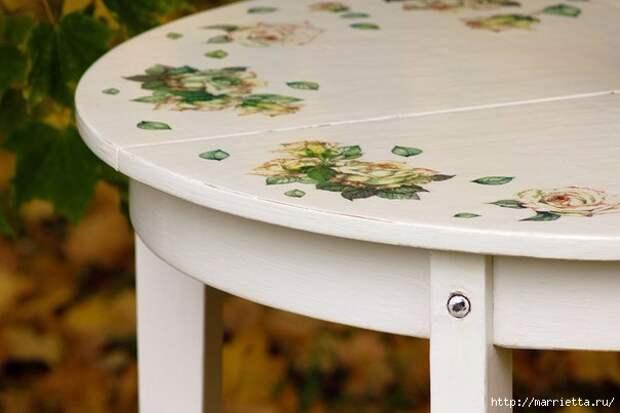 Мастер-класс по созданию стола в стиле шебби шик (8) (604x403, 109Kb)