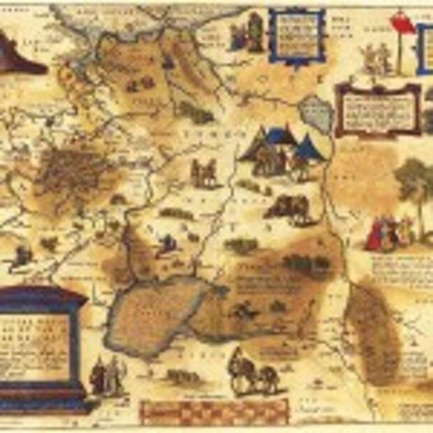Руссия 1570-1612 Ортелиус