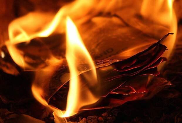 На Костромской случился крупный пожар