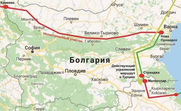 Болгария Турецкий поток