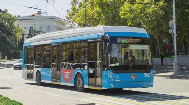 В Севастополе из-за аварии на контактной сети не ходят троллейбусы