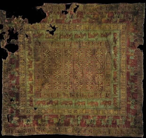 Пазырский ковер — самый старый в мире
