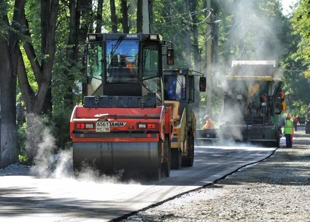 В Удмуртии в 2022 году на ремонт и строительство дорог направят 2,4 млрд рублей