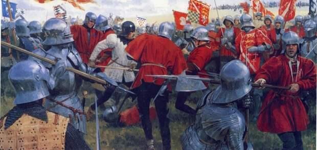 Война Белой и Алой розы в Англии