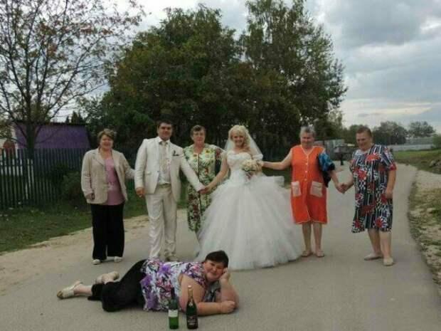 Свадьбы в формате деревня-edition брак, жених, невеста, прикол, свадьба, семья, юмор