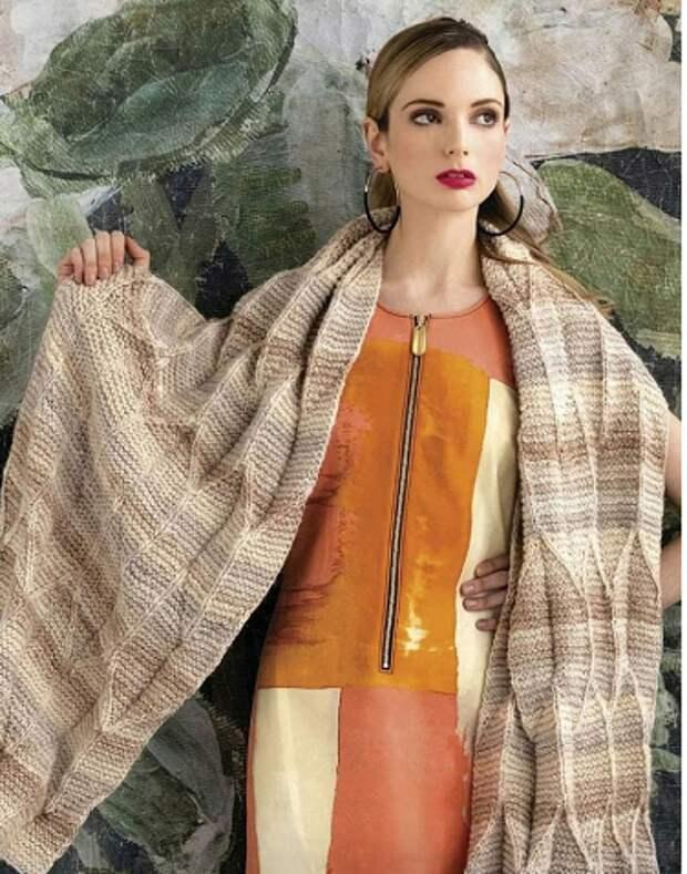 Платки и шали от Filati. Вяжем вместе с итальянскими профи
