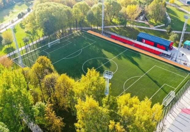 Опробовали ли вы новое футбольное поле с подогревом? – опрос жителей Отрадного