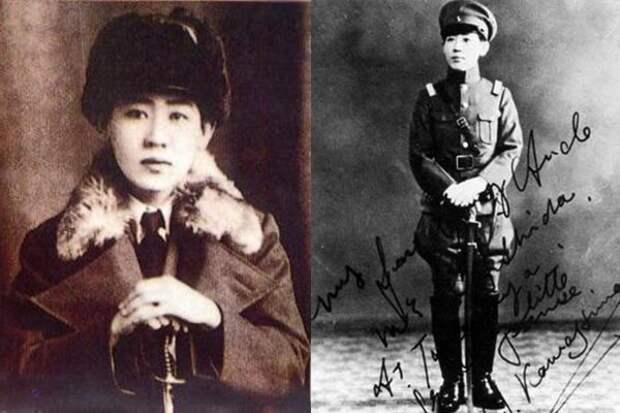5. Йошико Кавашима  женщины, история, шпионка