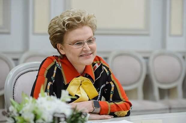 Малышева восхитилась Москвой после возвращения из США