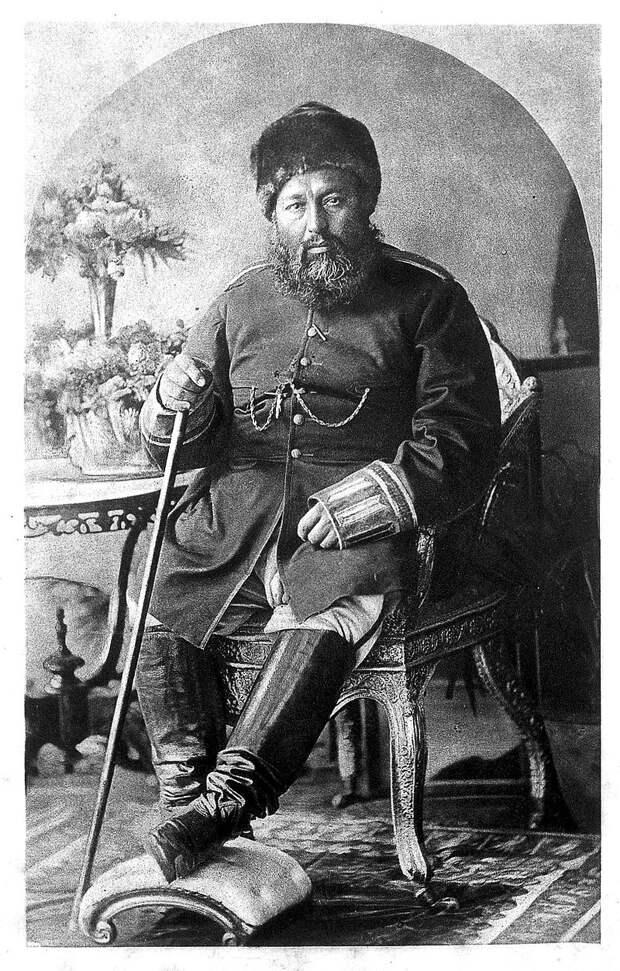 Абдур-Рахман в 1897.