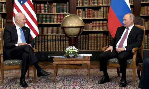 Байден рассказал о своих ощущениях, находясь перед Путиным