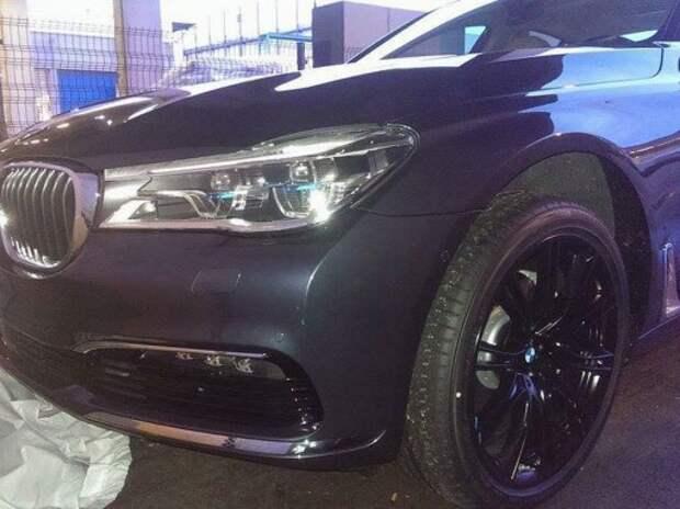 Внешность нового BMW 7-й серии полностью рассекречена