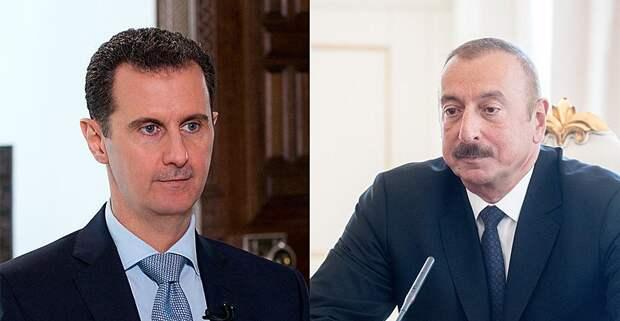 Алиев повторил путь Асада