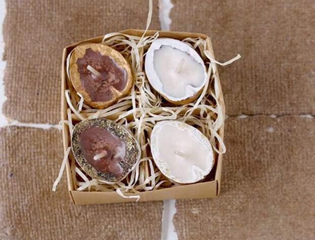 Щёлкаем орешки: скорлупа грецкого ореха как материал для вашего творчества, фото № 15