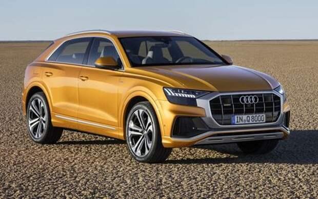 Встречаем Audi Q8: хай-тек плюс ностальгия по 80-м