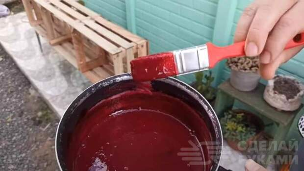 Как сделать краску по дереву из свеклы