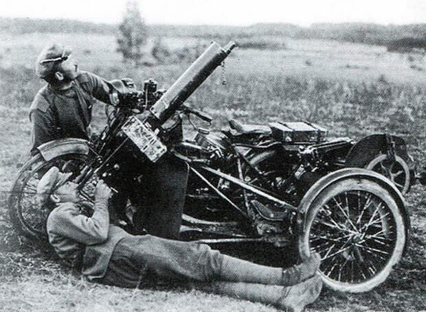 Мотоциклы Российской империи