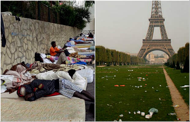 Чем разочаровывает Париж