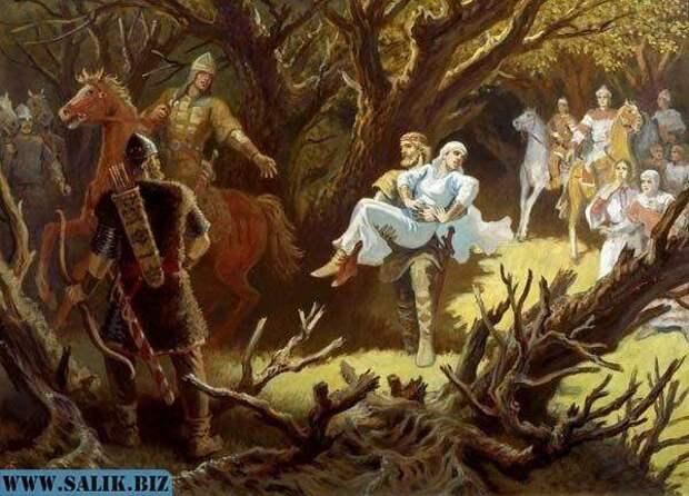 Правда о древней руси зашифрована в былинах.