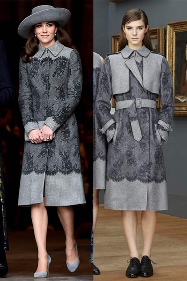 7 дизайнерских нарядов, которые перешили специально для Кейт Миддлтон