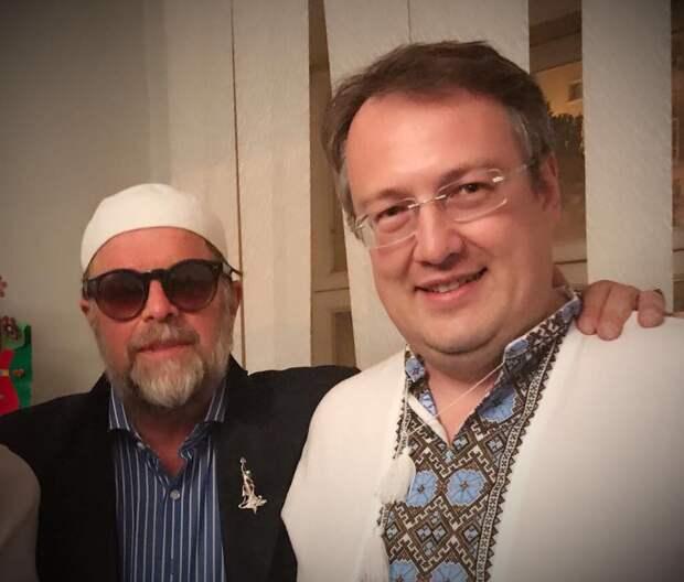 Гребенщиков в Киеве подружился с Геращенко