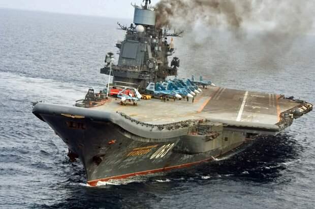 Как можно улучшить единственный российский авианосец