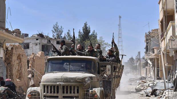 В Сирии сообщают о конфликте между российскими и иранскими военными в Хомсе