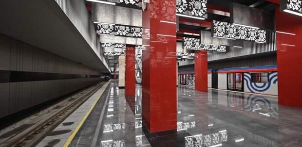 Собянин провел техпуск участка БКЛ метро от «Давыдково» до «Проспекта Вернадского»
