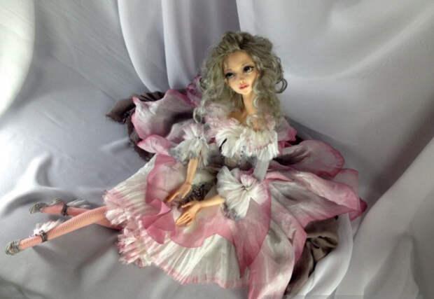 Куклы художницы Оксаны Славниковой