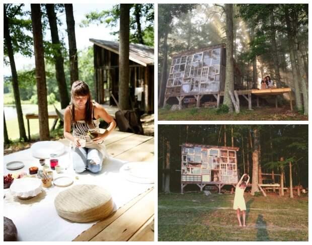 Полное единение с природой вдохновляет больше нежели работа в кабинетах (The Sunset House, США).   Фото: googleusercontent.com.