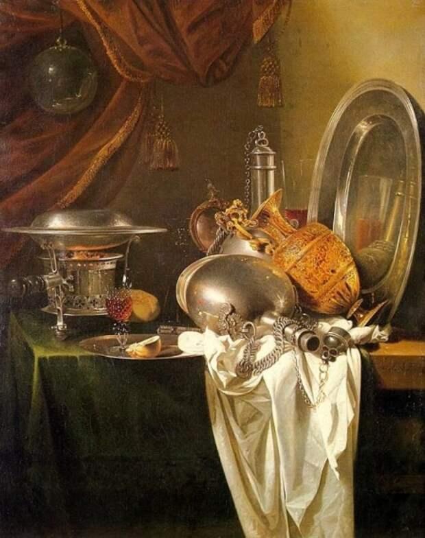 Виллем Кальф (нидерл. Willem Kalf, 1619, Роттердам — 31 июля 1693, Амстердам) — один из самых известных голландских мастеров натюрморта голландские натюрморты, живопись, искусство, красота, цветы