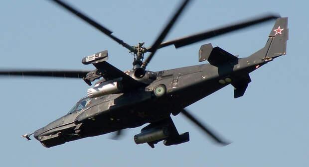 Вертолёт «Чёрная акула» Ка-50